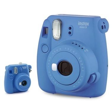 Fujifilm instax Mavi Minyatür mini 9 Anahtarlik Renkli